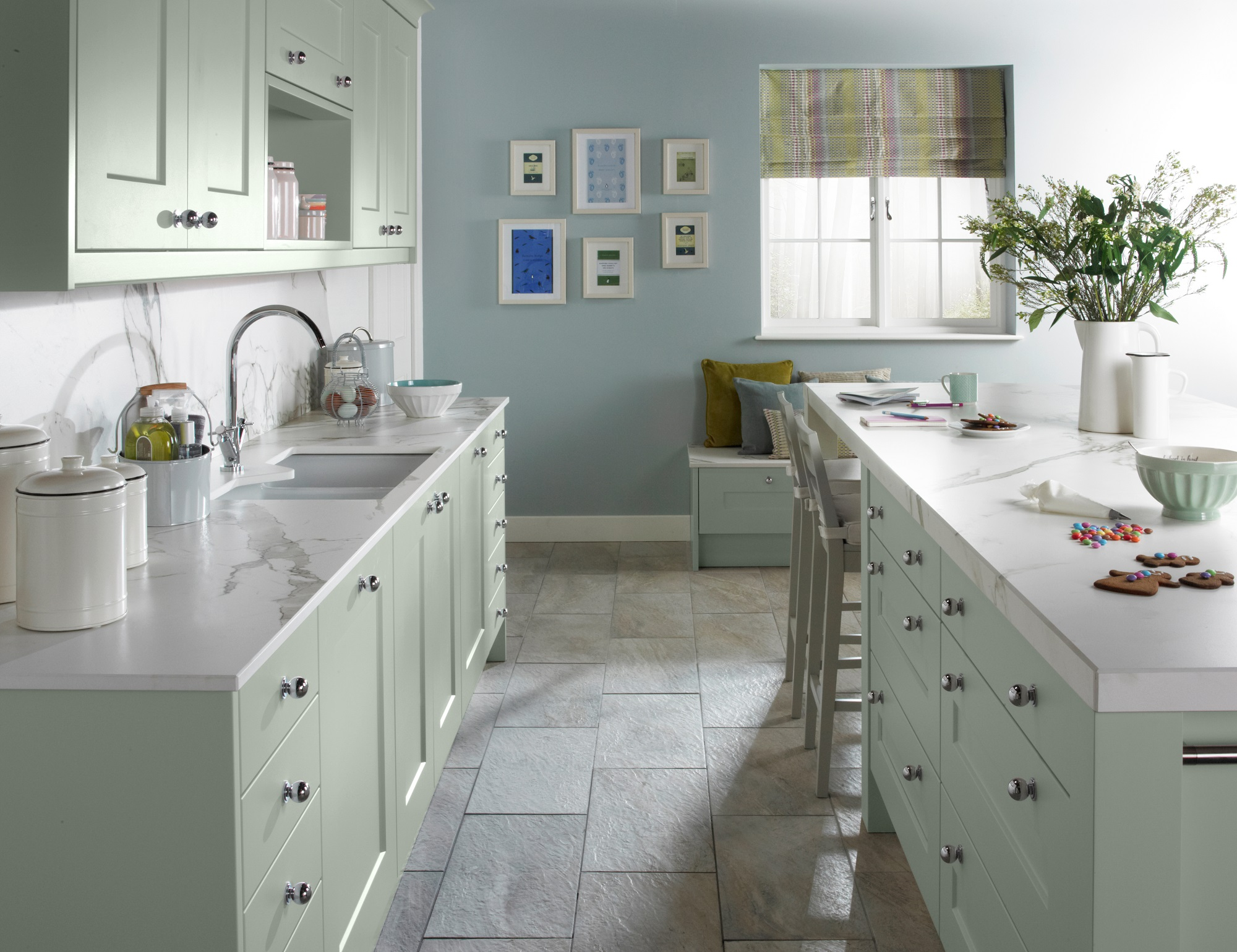 ... Matt Painted Finish Creates A Contemporary Feel, Simple Lines Look  Crisp And Clean And A Durable Finish Makes The Stowe Kitchen Family  Living Friendly.